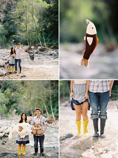 a fishing photo shoot... right up my alley... insert Hunter boots and cute outfit...