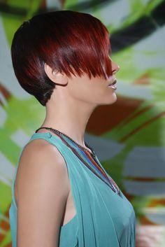 www.estetica.it   Hair & make up: Equipe nazionale Hair Studio's Photo: Matteo Anatrella