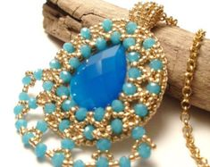 SuperDuo Beaded bead TUTORIAL Beaded bead Sherazade with