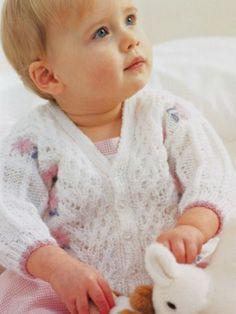 Baby Pullover stricken für mädchen