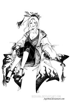 Today (3rd August) is Tsunade's Birthday!   Happy Birthday, Godaime!