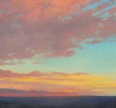 Foothills Sunset, Jeannie Sellmer