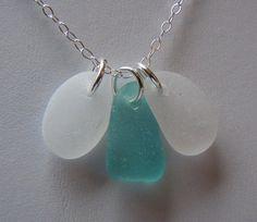 Beach Glass Jewelry - from BeachGlassMemories on Etsy.