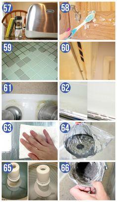 Easy GENIUS Cleaning Hacks