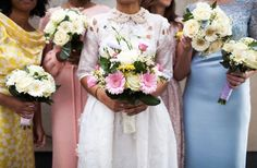 20 Mismatched Bridesmaid Dresses for Your Modern Wedding   Brit + Co