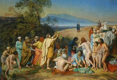 The Appearance of Christ Before the People by Alexander Ivanov