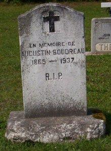 Boudreau headstone | St Joachim Cemetery | Bertrand (Gloucester) New Brunswick Genealogy