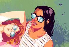 LOFT Monthly Edit - Illustration by Rebecca Mock