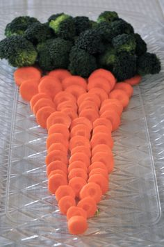 Our Italian Kitchen: Carrot Veggie Platter for Easter