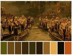 Colour Pallete, Color Schemes, Color Palettes, Colour Combinations, Cinema Colours, Painted Shorts, Design Palette, Ap Art, Film Movie
