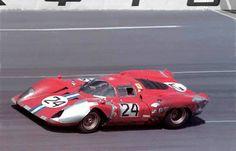 Posey-NART Ferrari 312P Parkes à Daytona 1970