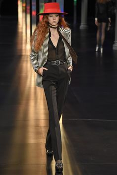 Saint Laurent RTW Spring 2015 - Slideshow Love, love. Could buy this in a heartbeat!