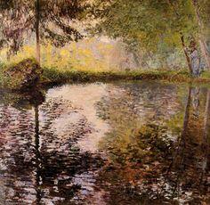 Etang à Montgeron de Claude Monet (1840-1926, France)
