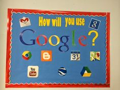 We love our Google Apps for Education at our school! So, I created a little shout out to Google with a bulletin board in honor of their incr...