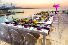 Compliment the breathtaking view with your decor! #BreathlessCaboSanLucas #Mexico #DestinationWedding