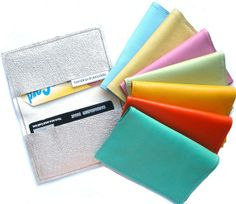 Metro Leather Business Card Holder TM Card Holder by bambina, $12.00