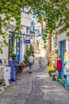 Island, Greece, Skopelos, Glossa, Village #island, #greece, #skopelos, #glossa, #village