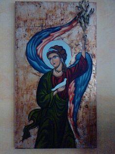ΑΡΧΑΓ.ΜΙΧΑΗΛ Orthodox Christianity, Painting, Art, Art Background, Painting Art, Kunst, Paintings, Performing Arts, Painted Canvas