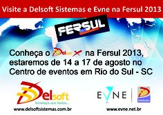 E-mail marketing convidando para a Fersul 2013