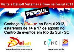 E-mail marketing convidando para a Fersul 2013