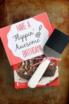 Have a Flippin' Awesome Birthday!!! | DessertNowDinnerLater.com #birthdaygiftidea