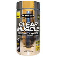 EXTRA SALE on #iHerb Muscletech Clear Muscle 168 Liquid Caps 56% + $5 OFF - Now $43,28 #RT Discount applied in cart