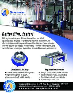Plastics Machinery Magazine September 2015 Ad