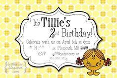 little miss sunshine invitation - Beth Kruse Custom Creations: little miss sunshine