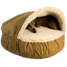 Snoozer Luxury Cozy Cave, Camel, X-Large Extra Large - (45L x 45W x 8H in.) Snoozer Price:$96.95 + $7.99 shipping In stock.  Ships from and sold by Brookstone. -10.05.2015