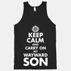 Carry On My Wayward Son | T-Shirts, Tank Tops, Sweatshirts and Hoodies | HUMAN