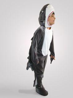 Shark costume. Gyilkos cápa jelmezem. 2012.-ben készült.