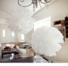 DIY Tissue Paper Puffs