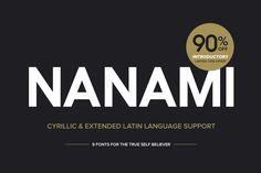 Nanami Pro Font Family (90% OFF!) by Thinkdust on Creative Market