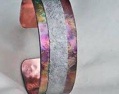 Resultado de imagen de copper and silver bracelet