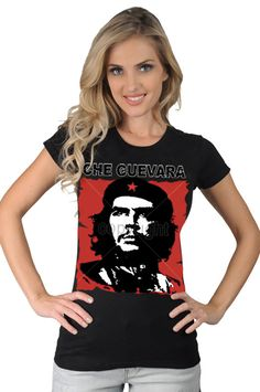 Womens Che Guevara Pop Culture Rebel Icon Symbol Revolution T-Shirt on Etsy, $16.95