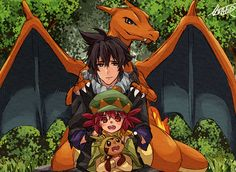 Pokemon Alain.... Credit to original