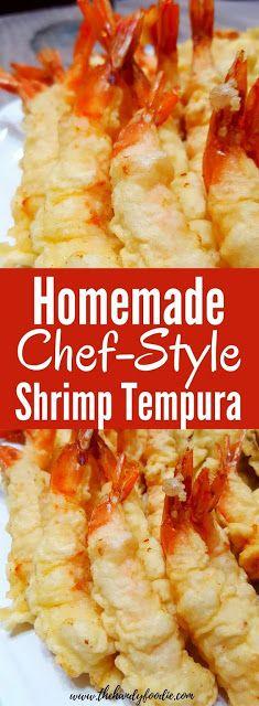 Homemade Shrimp Tempura - Food And Cake Recipes Chef Recipes, Quick Recipes, Easy Healthy Recipes, Fish Recipes, Seafood Recipes, Appetizer Recipes, Cooking Recipes, Healthy Food, Family Recipes