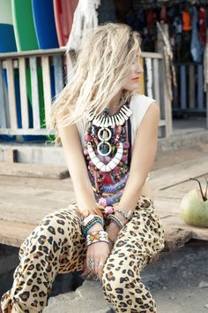 ballin cheetah harem pants....omg obsessed! Obsessed! Obsessed with this outfit