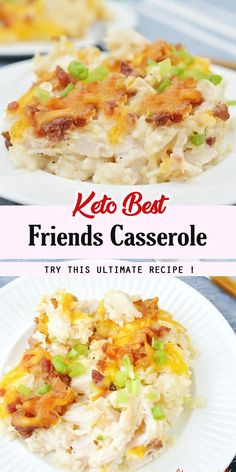 Shredded chicken, pre cooked 4 cups cauliflower rice, we used frozen bags 1 cup Cheddar cheese ½ cup Mozzar. Instant Pot Chicken Soup Recipe, Chicken Noodle Recipes, Grilled Chicken Recipes, Baked Chicken Recipes, Keto Recipes, Cooking Recipes, Healthy Recipes, Appetizer Recipes, Yummy Recipes