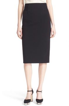 DIANE VON FURSTENBERG 'Geri' Knit Pencil Skirt. #dianevonfurstenberg #cloth #
