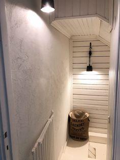 rustic stairway, stairway ideas, white wooden stairway, rouhea porraskäytävä, valkoinen porraskäytävä