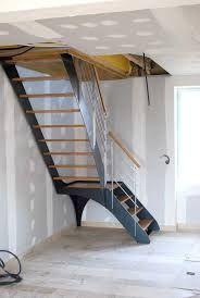 "Képtalálat a következőre: ""escalier double quart tournant avec palier"""