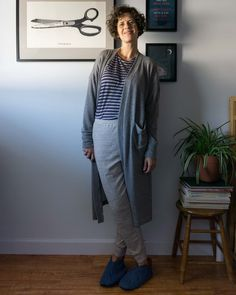 Learn how to sew a cardigan using the Tasi Draft-It-Yourself sewing pattern by Sew DIY Normcore, Quilts, Sewing, Style, Fashion, Swag, Moda, Dressmaking, Couture