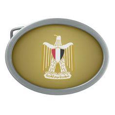 Egyptian coat of arms Belt Buckle Belt Buckles
