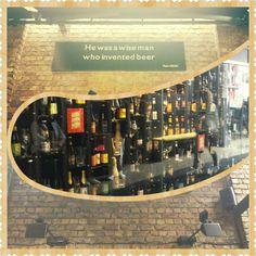 Beer wall  Parede de cervejas