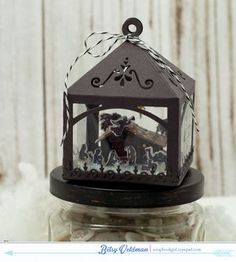 Nativity Ornament by Betsy Veldman for Papertrey Ink (September 2015)