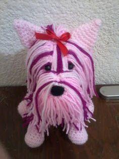 JENPOALI NEWS: FREE PATRON DOG YORKSHIRE AMIGURUMI