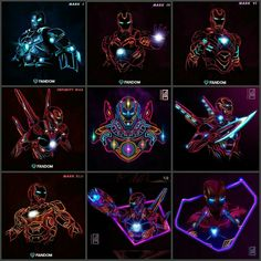 Iron Man - Most Outstanding Armors: Mark Marvel Vs Dc Comics, Marvel Films, Marvel Art, Marvel Heroes, Marvel Cinematic, Marvel Avengers, Logo Super Heros, Iron Man Fan Art, Iron Man Wallpaper