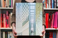 """Michael Gericke has designed """"Safdie"""", a 50 year monograph tracing the work of architect Moshe Safdie."""