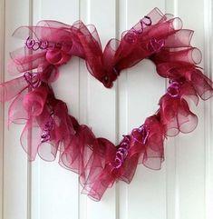 Ghirlande di San Valentino fai da te - Ghirlanda per San Valentino